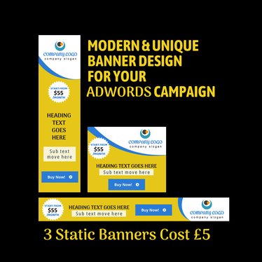 cccccc-Design Google Ads Banners for Adwords Campaign