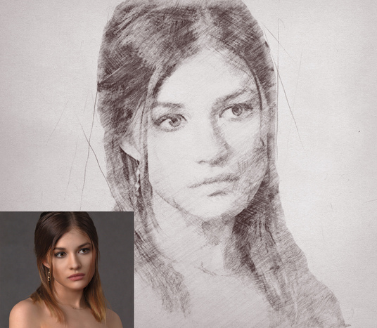 I will turn your photo into realistic Pencil Sketch