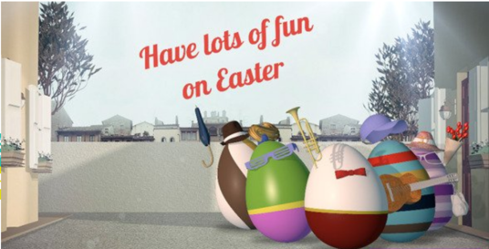 Make An Awesome Happy Easter Video With Your Message And Logo