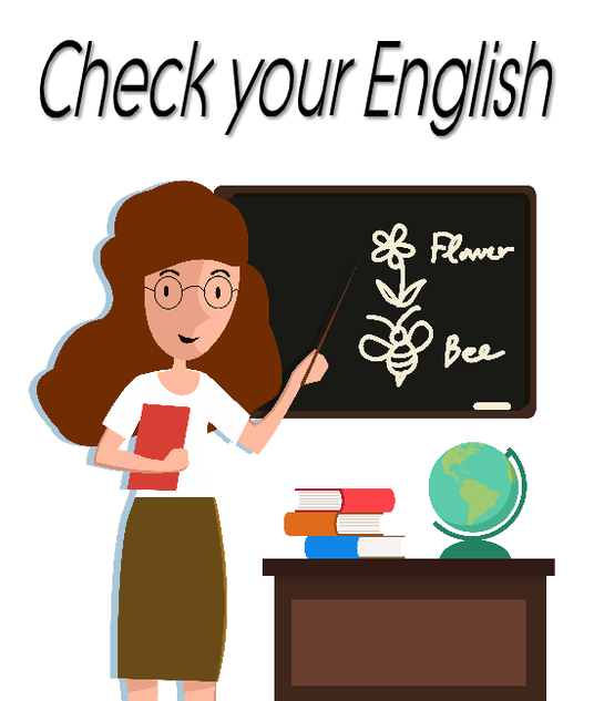 I will check your writing is in perfect English