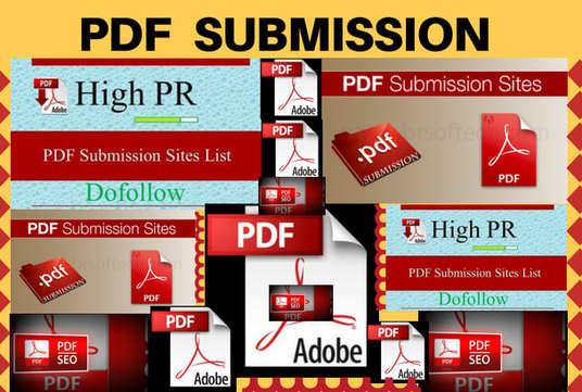 Do PDF  Submission To 50 Document Sharing Sites