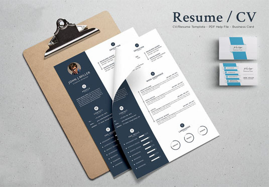 I will design CV, Resume, Curriculum vitae, Cover letter