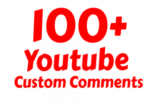 I will add 80-100+ Instant Youtube Custom Comments