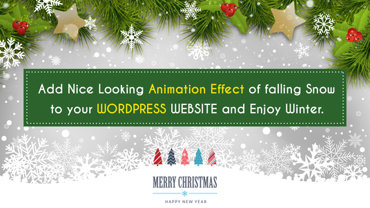 add Snow Falling Effect On Your Website