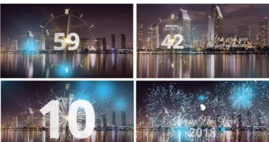 Create Amazing New Year Video