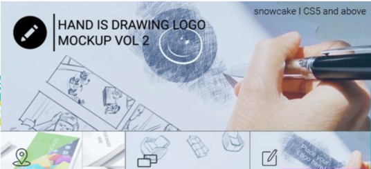 Do A Speed Drawing Video Of Your Logo With Watercolor