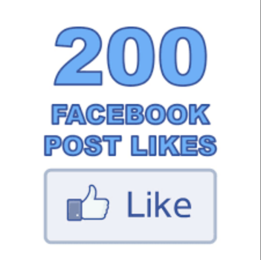 I will add 200 permanent Facebook likes