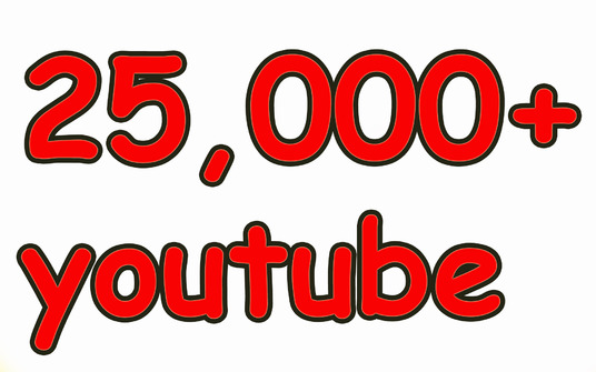 I will give you 25,000 YouTube Views  -Great Service – Fast Delivery – High Q