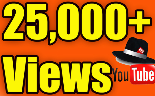 I will Give You High Quality 25,000+You tube views