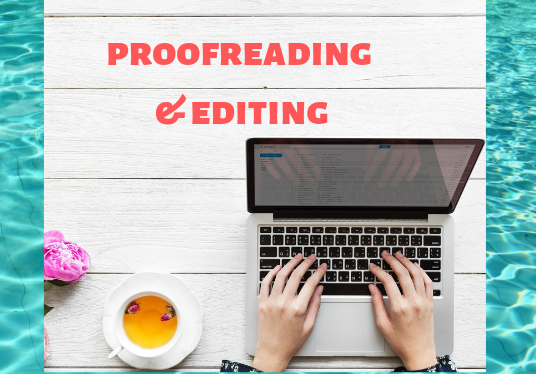 I will do proofreading and editing 4500 words