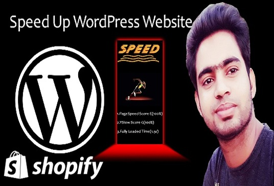 I will Speed Up WordPress  Website or Shopify website