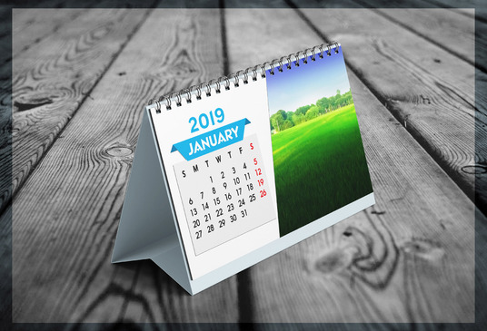 I will Design Professional Wall Or Desk Calendar
