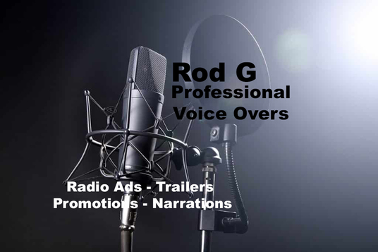 I will record a voice over for you. Radio ads, trailers, promotional material and lots more