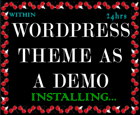 do WordPress theme exactly like its demo