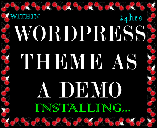 I will do WordPress theme exactly like its demo