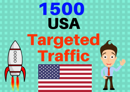 I will Send 1500 USA Targeted web traffic to your web or blog . Get Adsense safe and get Good Ale