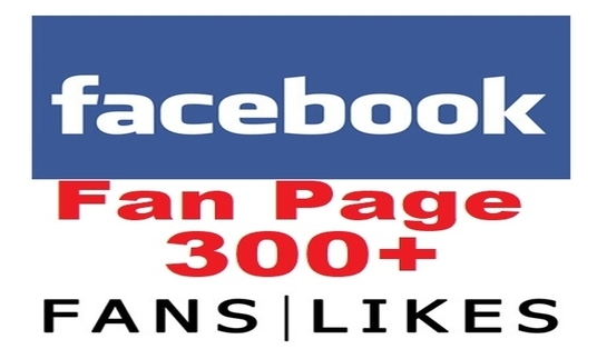 I will add 300 Real Facebook Fan page Likes