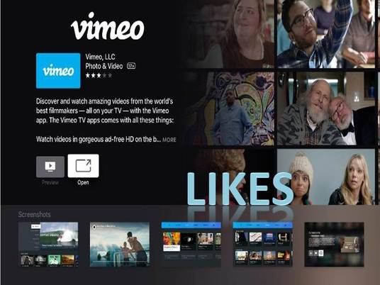 I will provide You 300+ Vimeo likes
