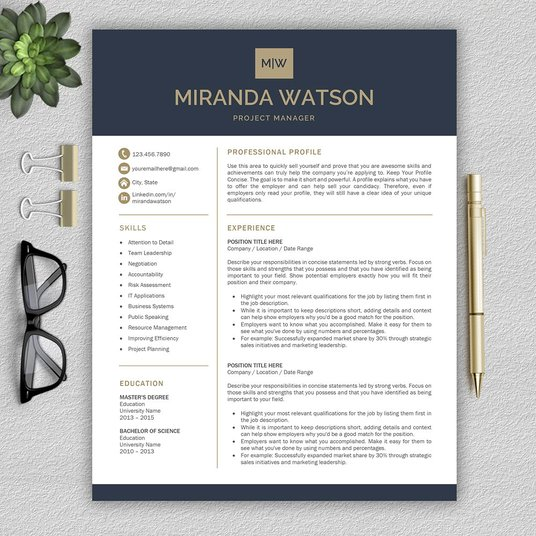 I will write a compelling CV and help you prepare for any future interviews