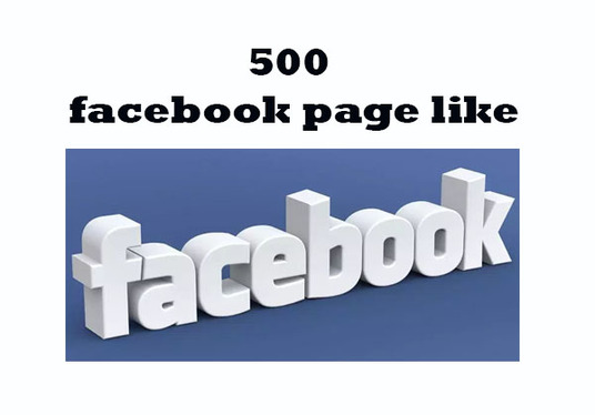 I will Add 500+ facebook page like