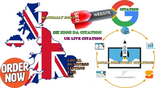 I will Do 30 Live UK Local Listing Citation Manually for UK Local Business