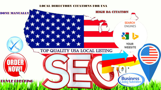 I will Do 30 Live Local Seo Citations For USA Local Businesses