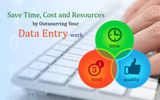 I will Complete Any Sort Of Data Entry Work In Professional Form