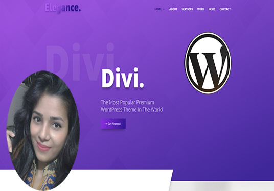 I will do Divi theme install and customization in short time