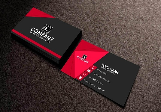 I will Make Double Side Print ready Business card & Stationary