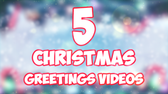 cccccc-make 5 merry Christmas video greetings