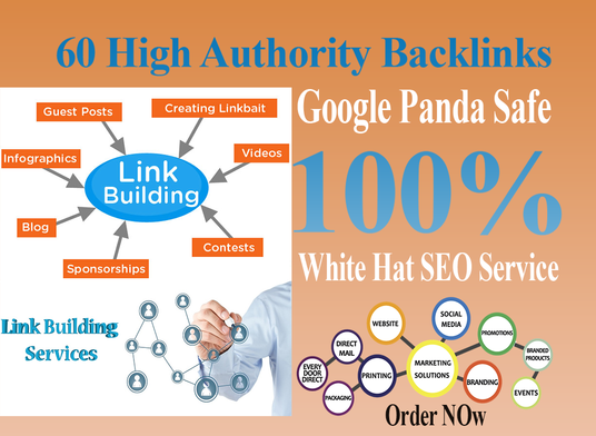 I will Create 100 high quality SEO backlinks Off-Page SEO link building