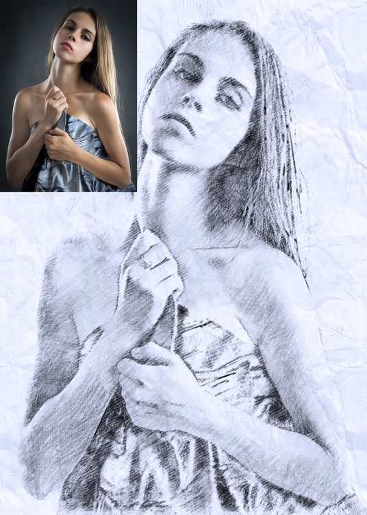 I will convert your photo to Pencil Sketch as Real Hand Drawn