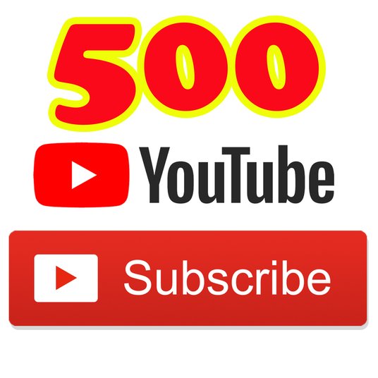 I will Add for You 500 Real YouTube Subscribers
