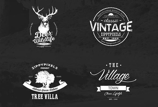 I will Design Professional Vintage Badge Logo
