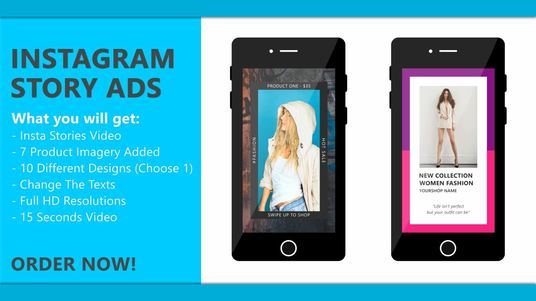 make Instagram Story ad for you