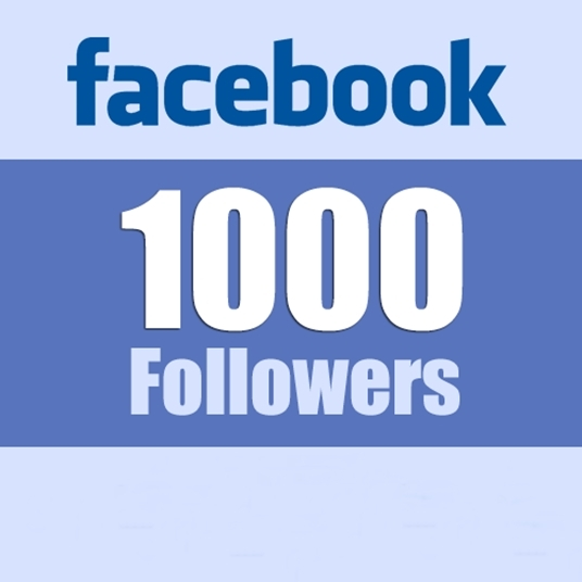 I will 1000+ RealFacebook Page followers on your fanpage