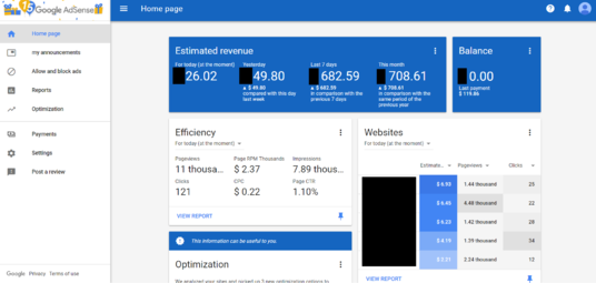 I will give you 300 Safe and Real AdSense Clicks (Top Countries) to your Website