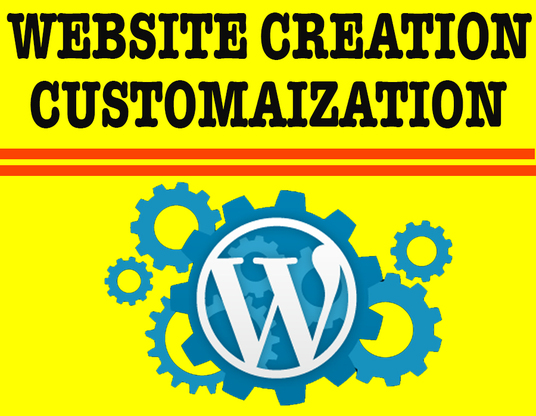 I will Customize Or Design A Professional Wordpress Website