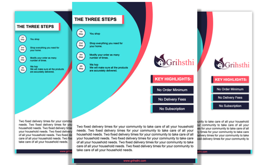 I will design Flat Professional Flyer
