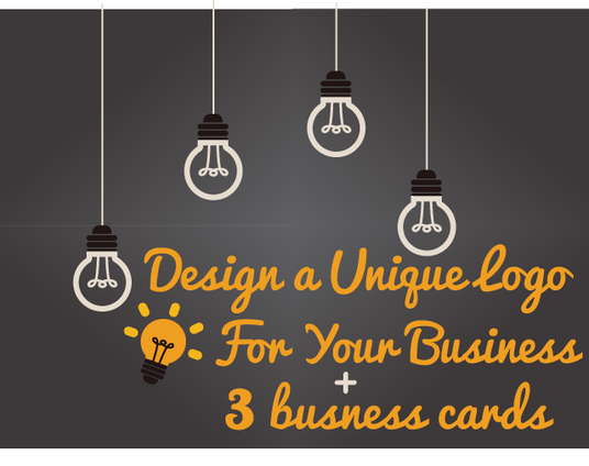 I will design a unique logo and business card for your business