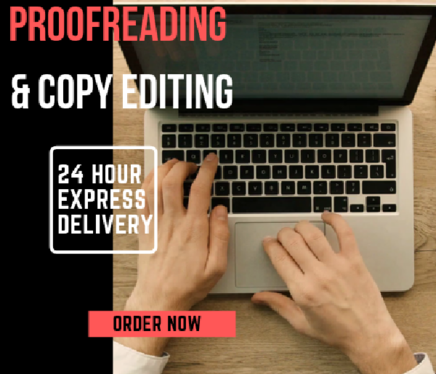 professionally proofread and edit English content (up to 1000 words)