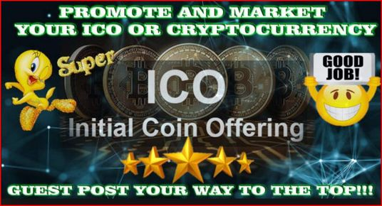 I will Do Cryptocurrency And ICO Marketing And Promotion