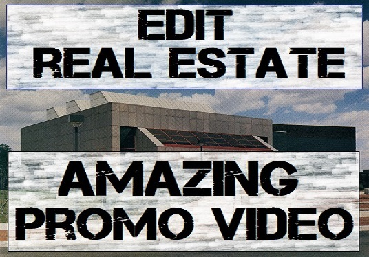 I will edit amazing real estate video  within 24hours