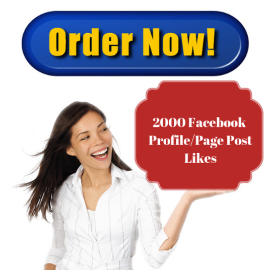 I will add 2000 facebook page post likes or profile post likes