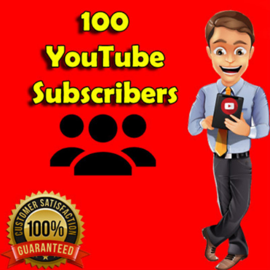 I will Provide You High Quality 100 Youtube Subscribers