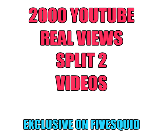 I will provide you 2000 youtube Adsense views