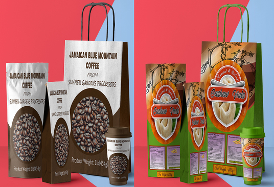 I will do a professional packaging design for you