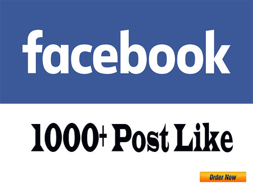provide 1000 Facebook Post Likes
