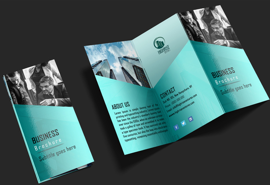 I will Design Brochure, Flyer for you
