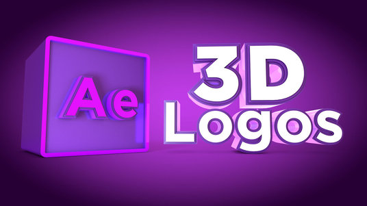 I will create a professional 3D logo for business